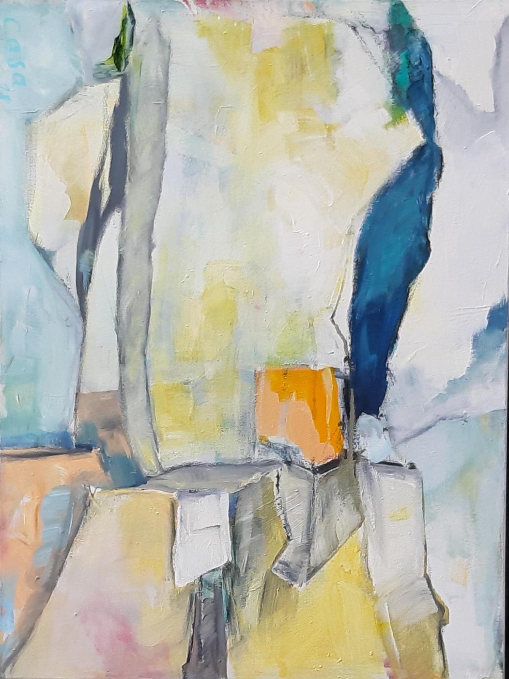 Alb III - Acryl auf Leinwand, 70 x 50 cm