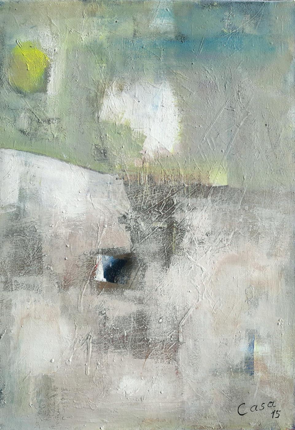 Refugium - Acryl auf Leinwand, 70 x 50 cm
