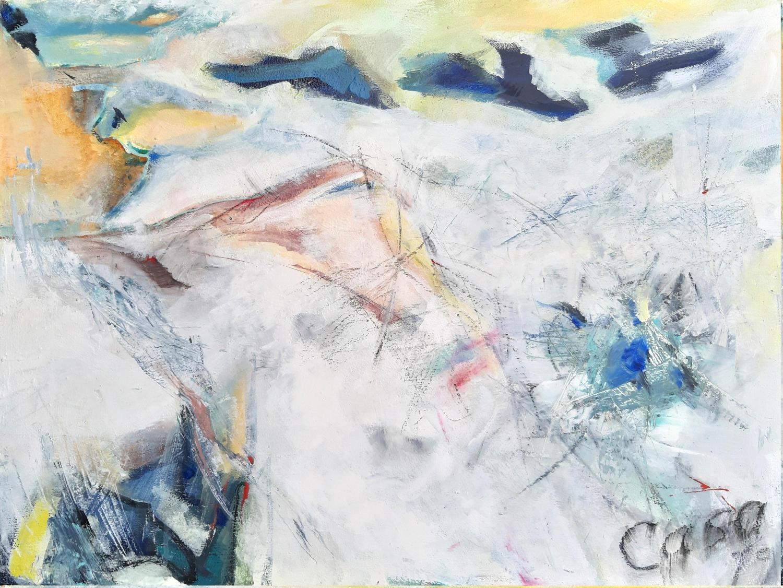 ohne Titel - Acryl auf Leinwand, 60 x 80 cm